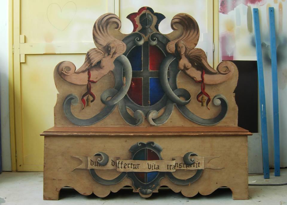 Mobili decorati su misura-legnoeoltre
