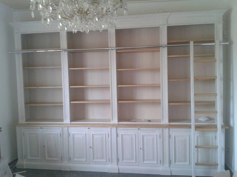 libreria sbiancata