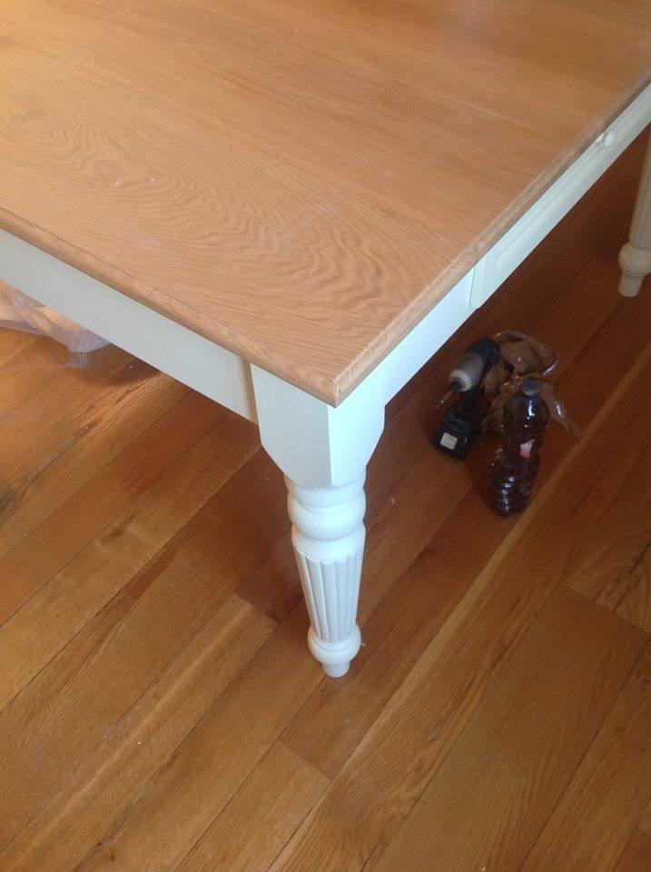 tavolo bicolore