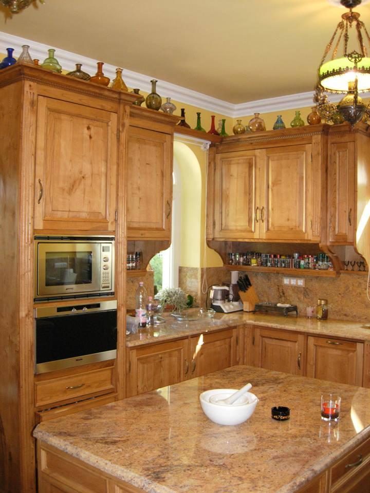 cucina in castagno