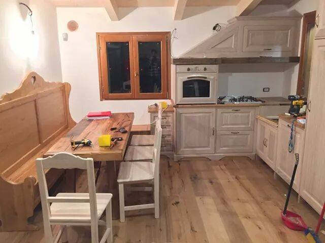 montaggio cucina