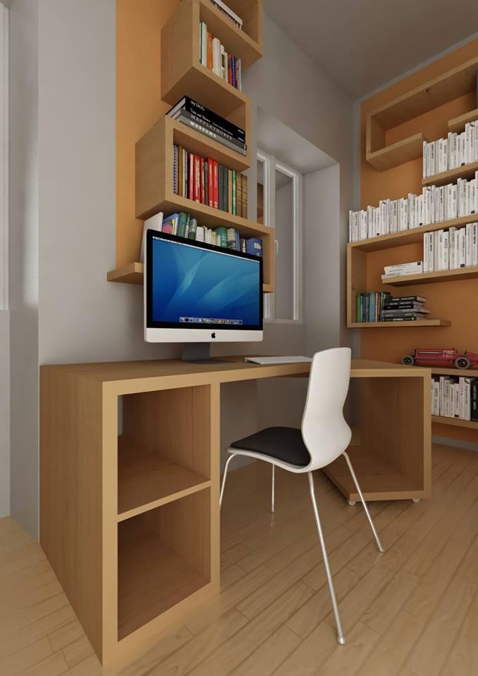 scrivania sdoppiabile