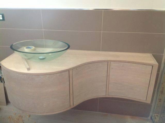 Mobili bagno su misura in legno legnoeoltre - Mobili bagno su misura ...