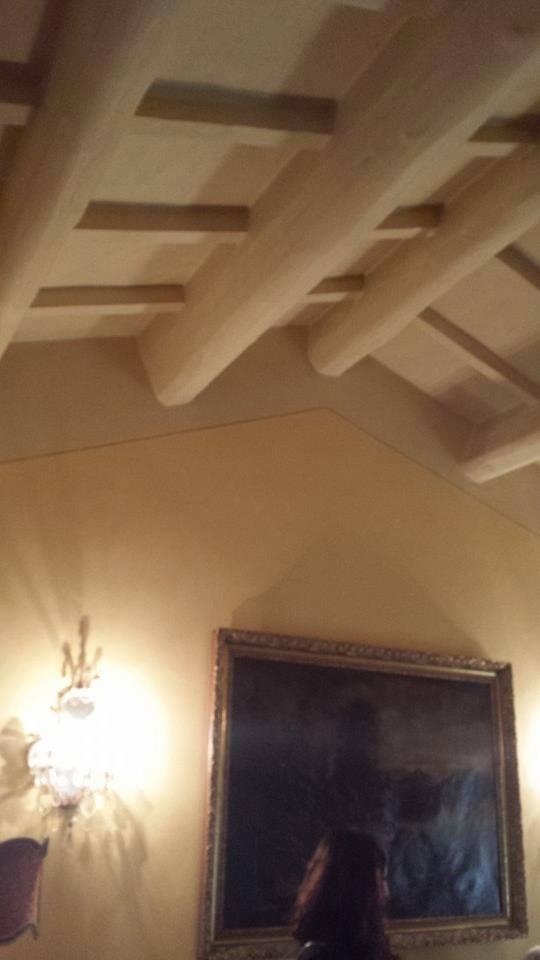 soffitto in abete