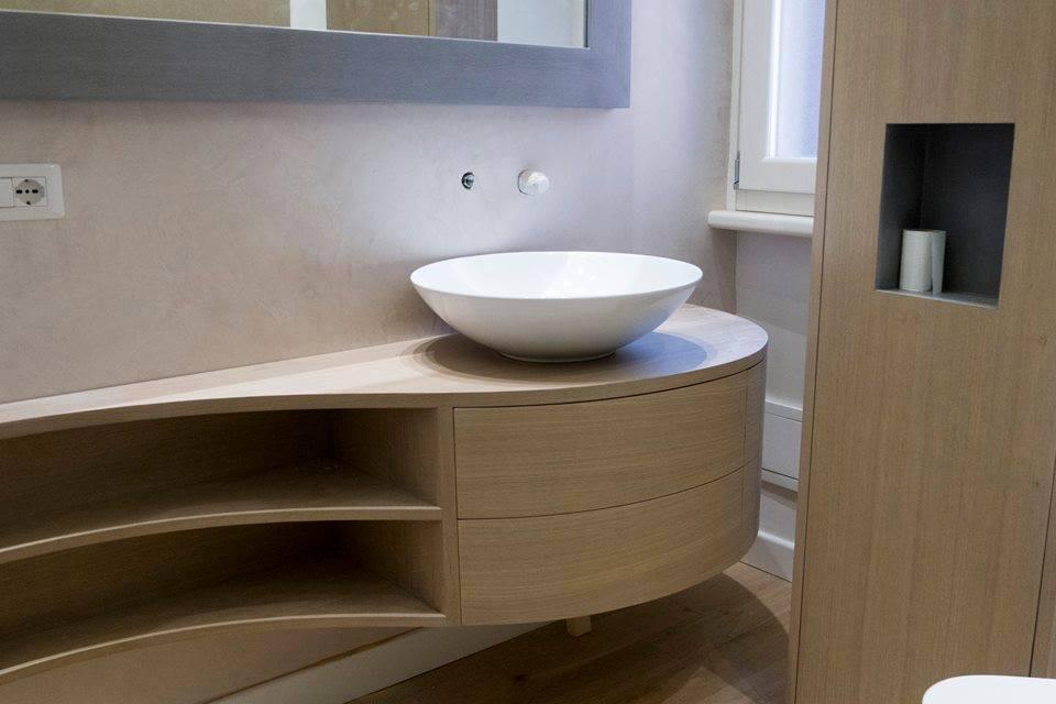 Mobili bagno su misura mobili bagno in legno legnoeoltre - Mobile bagno usato roma ...