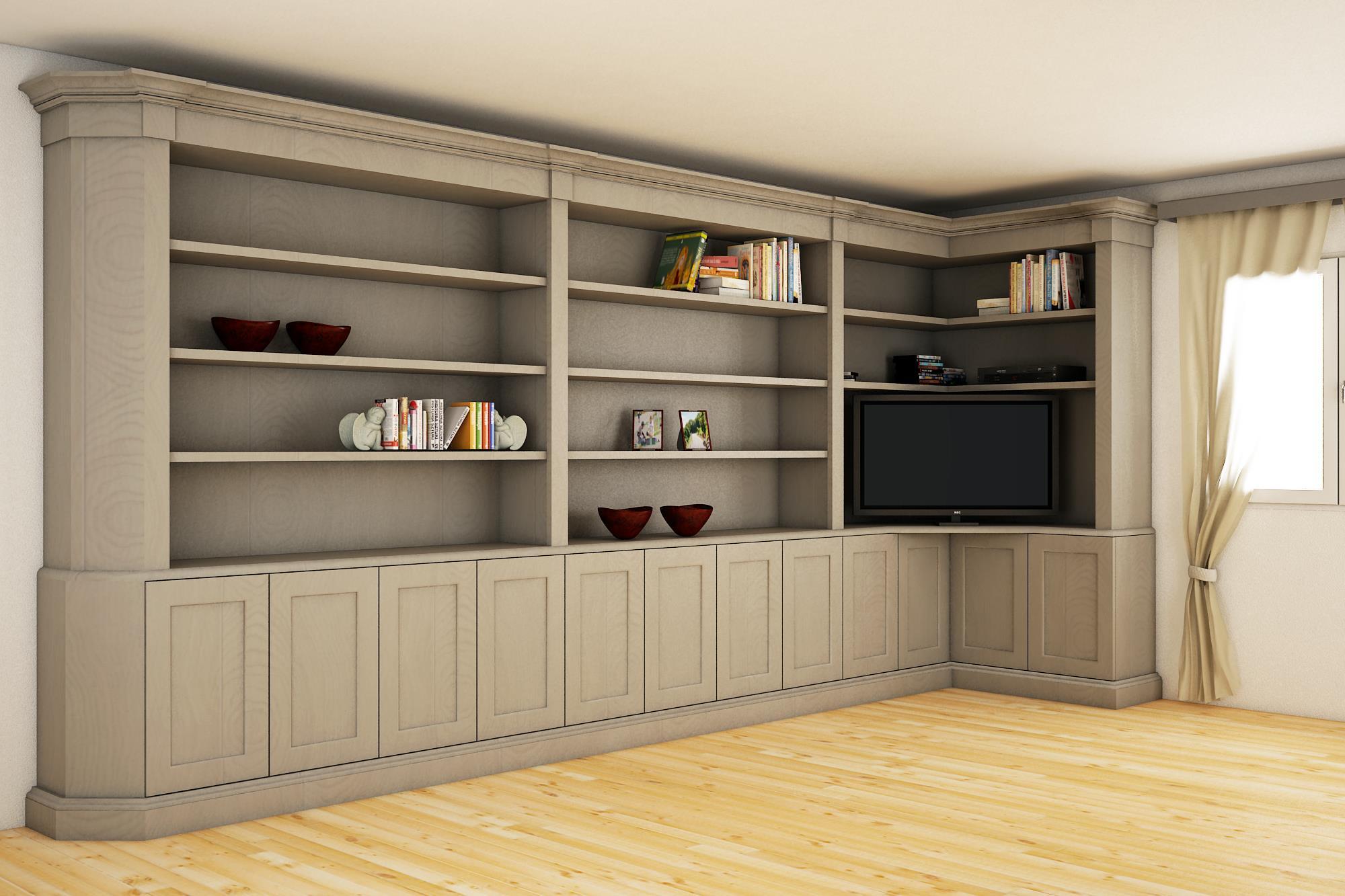 Progetti di ambienti domestici progetti arredamento casa for Progetti di arredamento