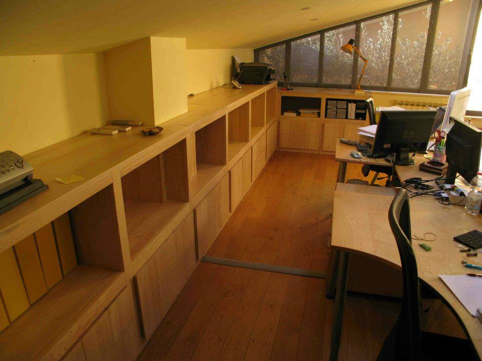 Arredamento mansarda per ufficio 3