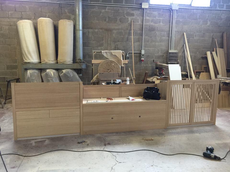 Mobili per mansarda in rovere
