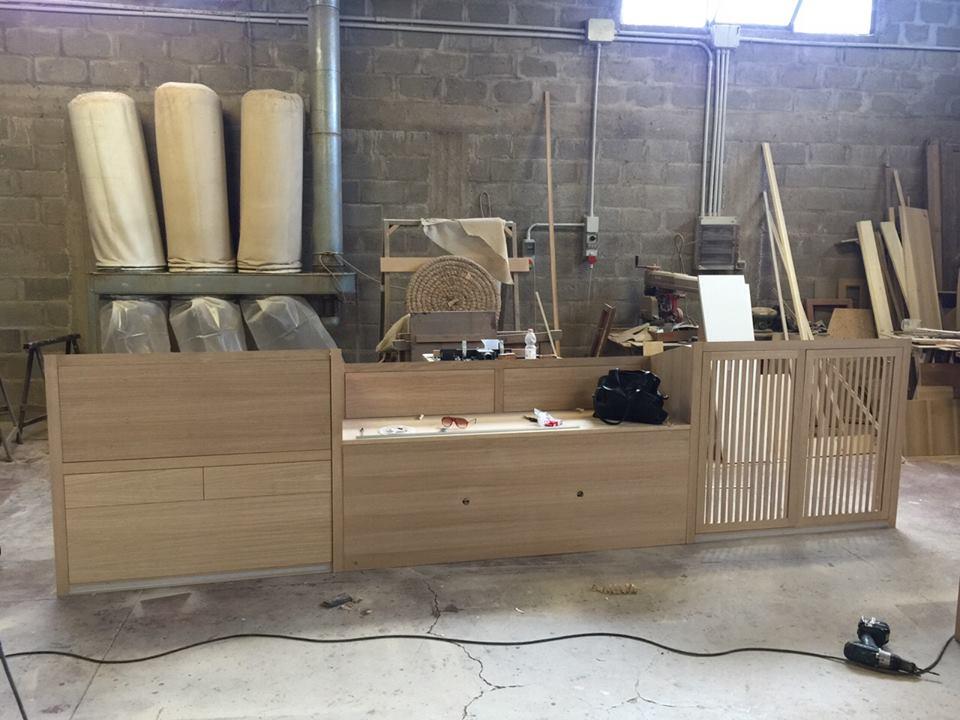 Costruzione mobili moderni per mansarda 6