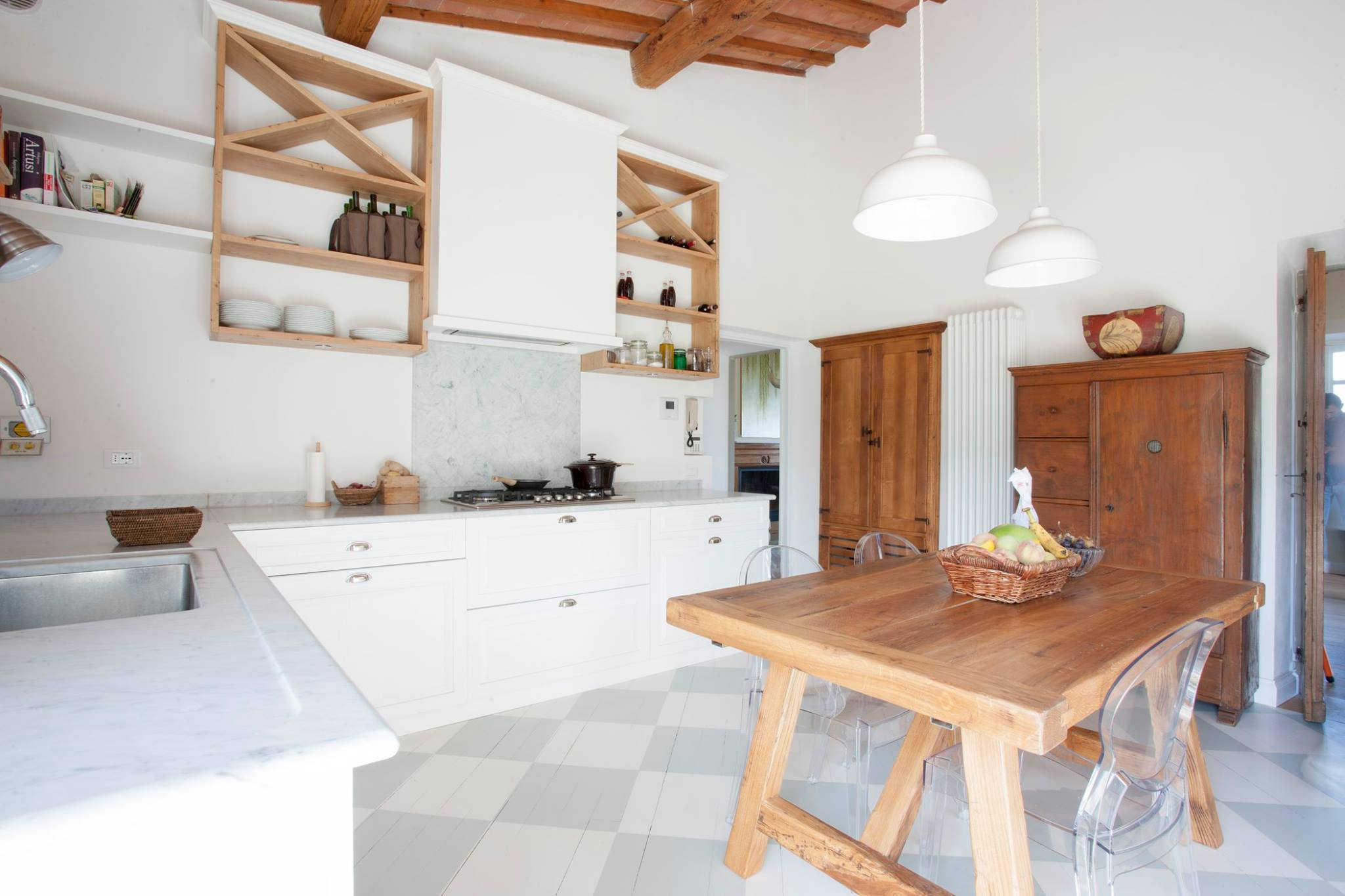 Emejing Cucina In Legno Massello Gallery - Amazing House Design ...