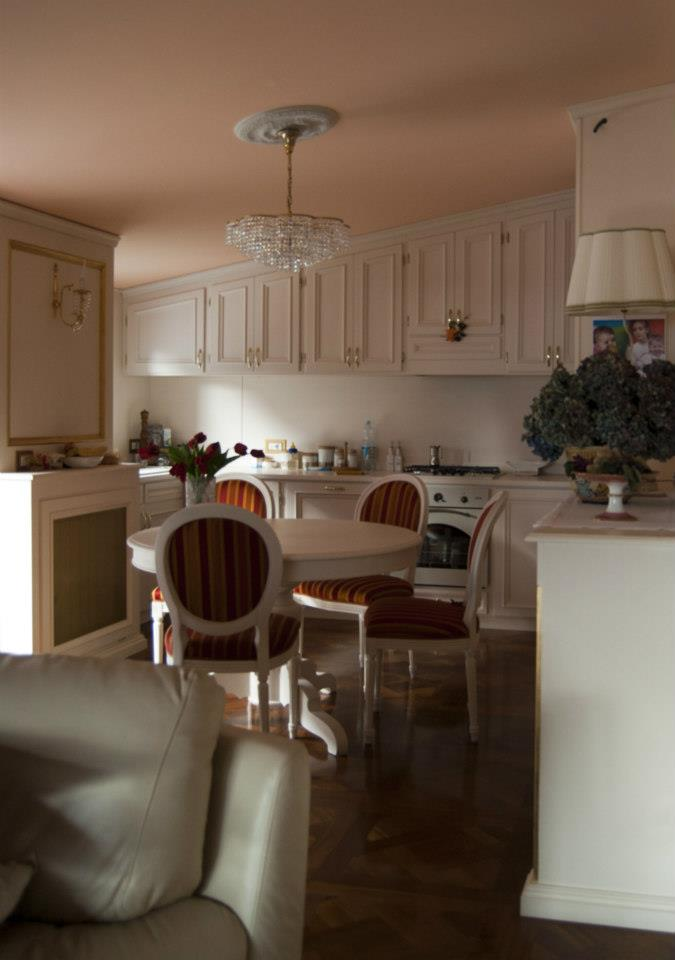 Zona pranzo-cucina Roma