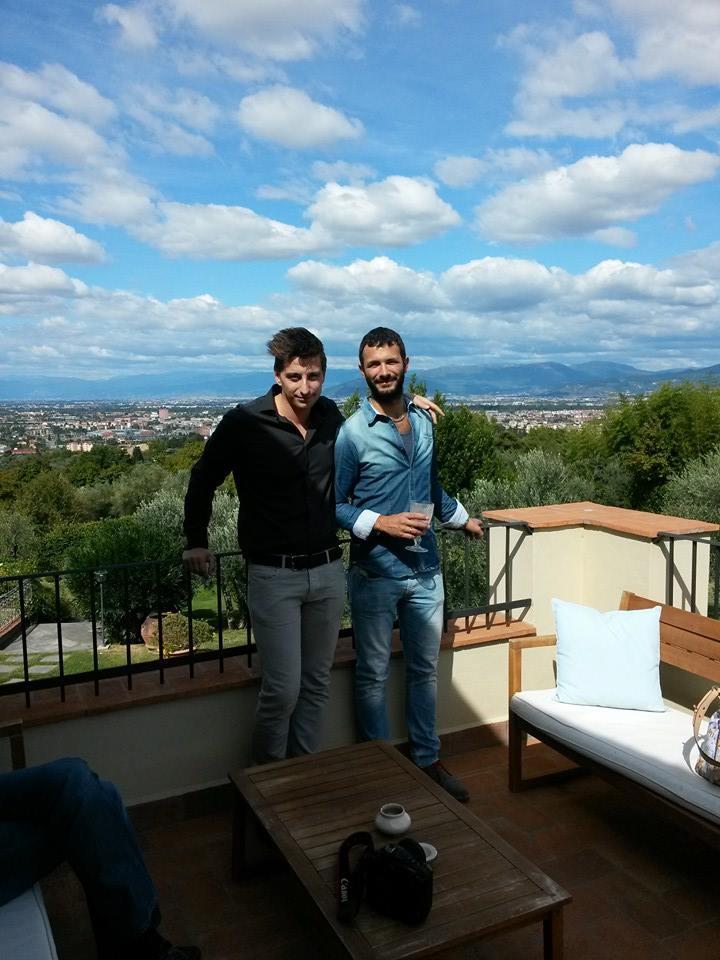 Andrea Grelli e Andrea Cappellacci
