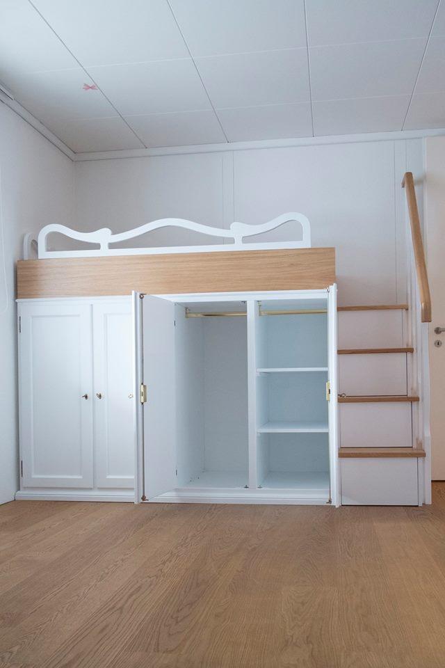 Letti a soppalco letti su misura in legno legnoeoltre - Letto matrimoniale a soppalco ikea ...