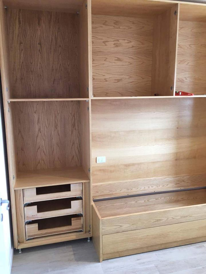 Fasi di montaggio legnoeoltre