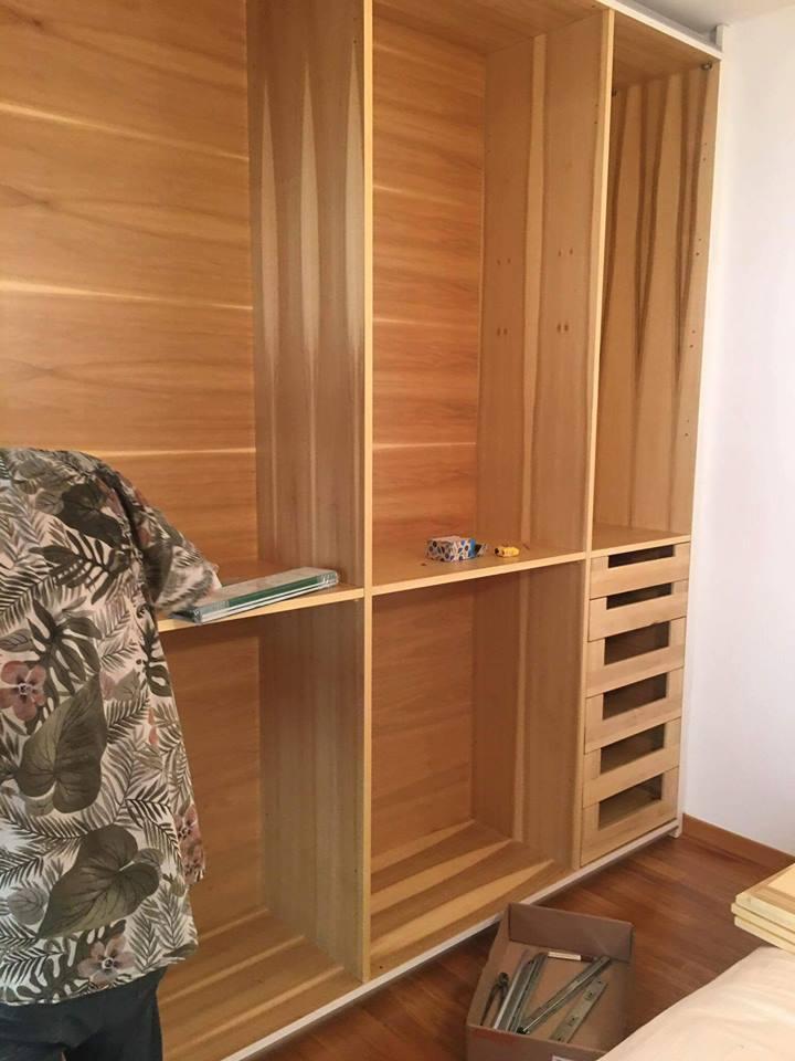 Montaggio interni armadio (3)
