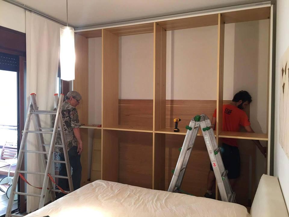 Montaggio interni armadio (4)