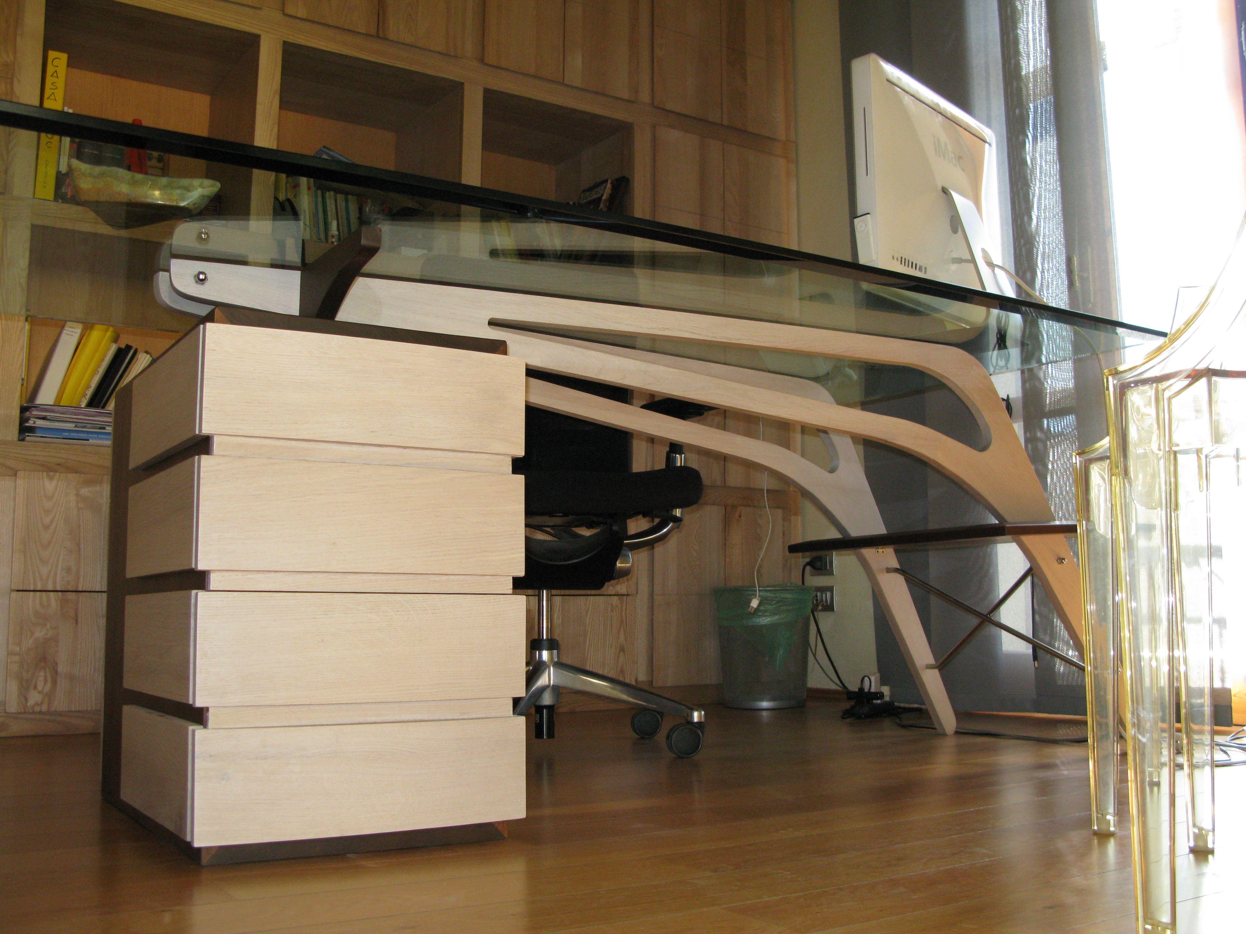 Scrivania Libreria studio (9)