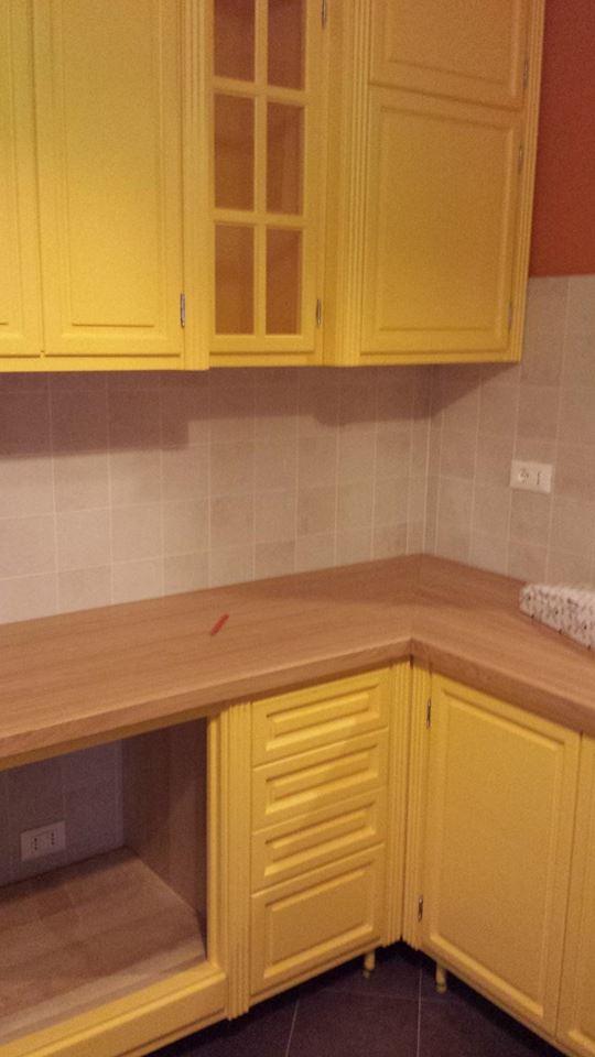 cucina in giallo montaggi (4)
