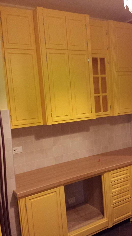 cucina in giallo montaggi (6)