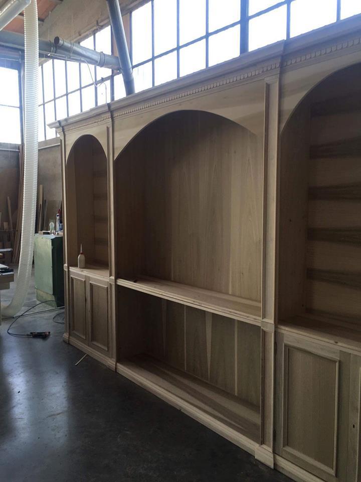 Boiserie in legno (1)