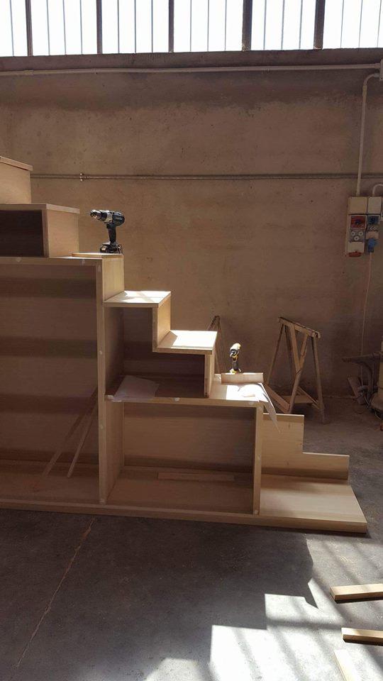 costruzione scala-libreria 1