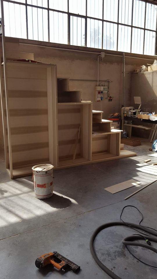 costruzione scala-libreria 2