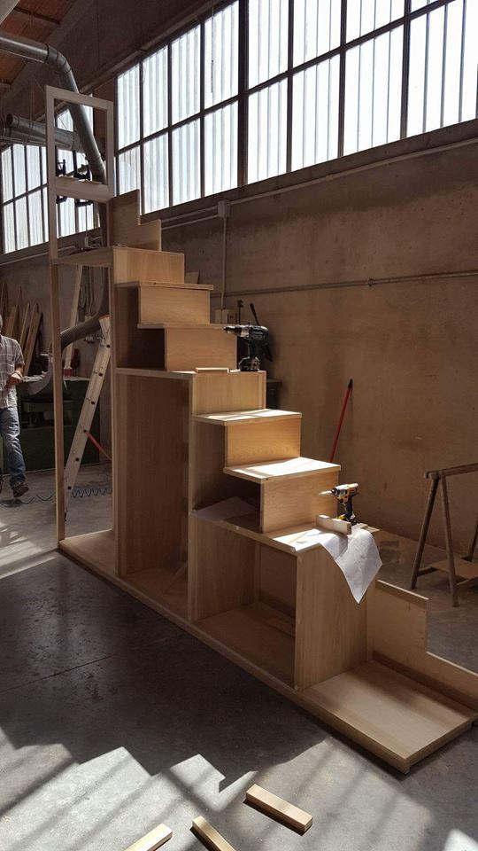 costruzione scala-libreria 3