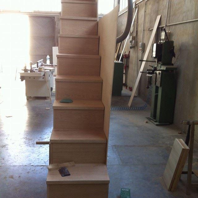 costruzione scala-libreria 4