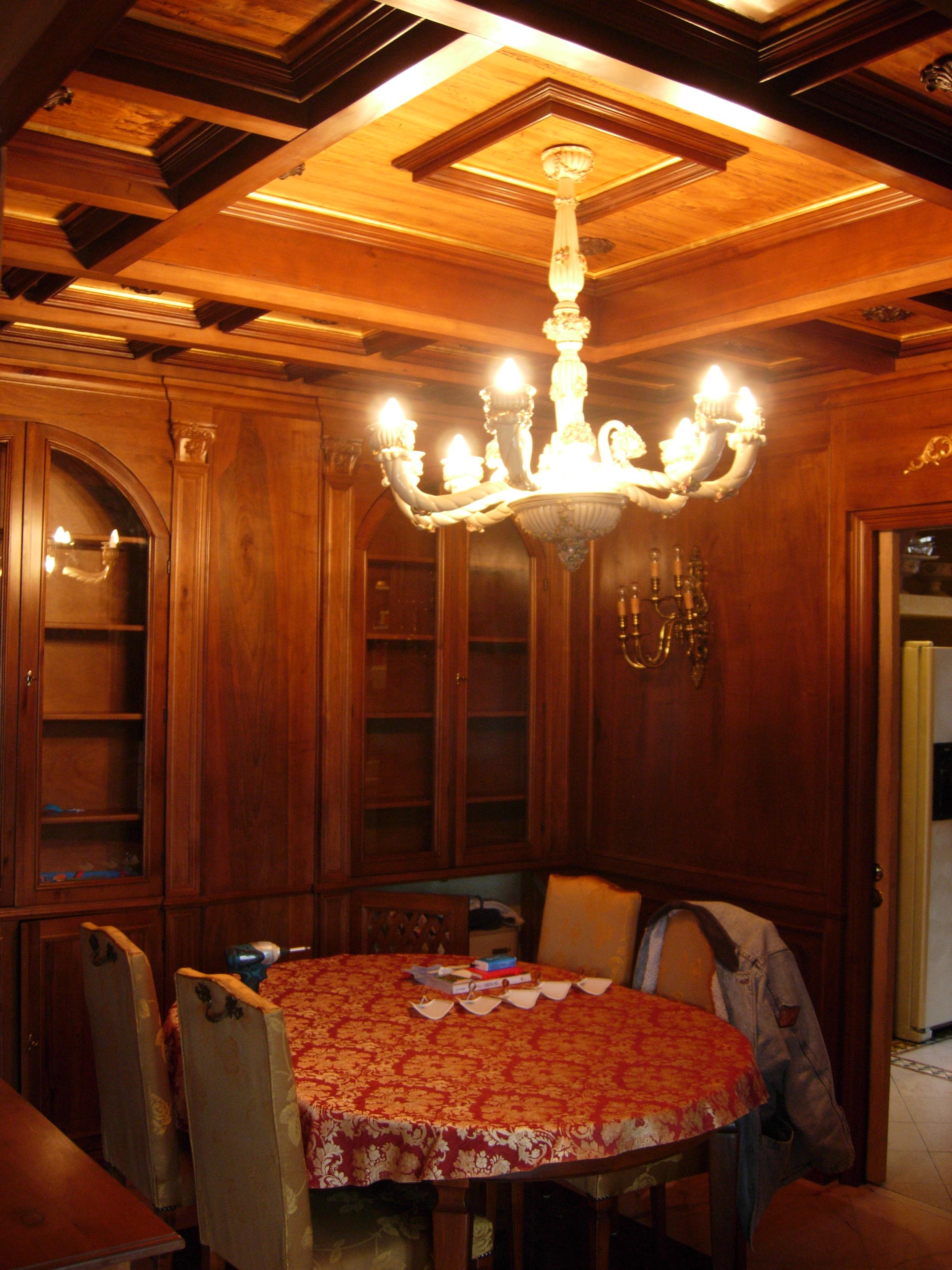 Sala da pranzo sala da pranzo in noce nazionale legnoeoltre - Sala pranzo ...
