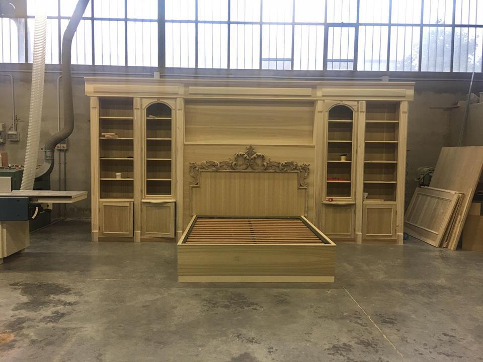 Camera da letto boiserie|camera da letto su misura|legnoeoltre
