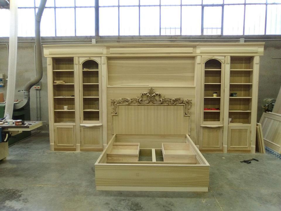 letto con cassetti legnoeoltre