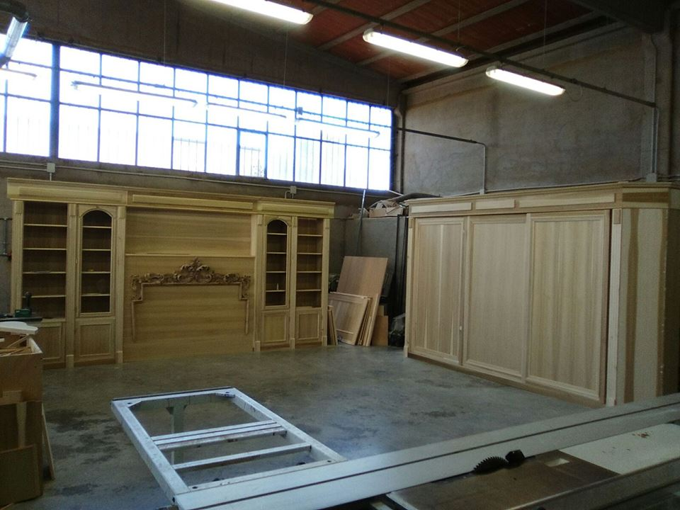 Boiserie camera da letto legnoeoltre