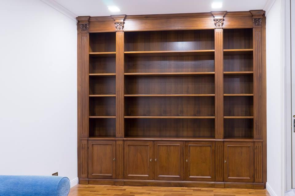 libreria sotto chiusa legnoeoltre
