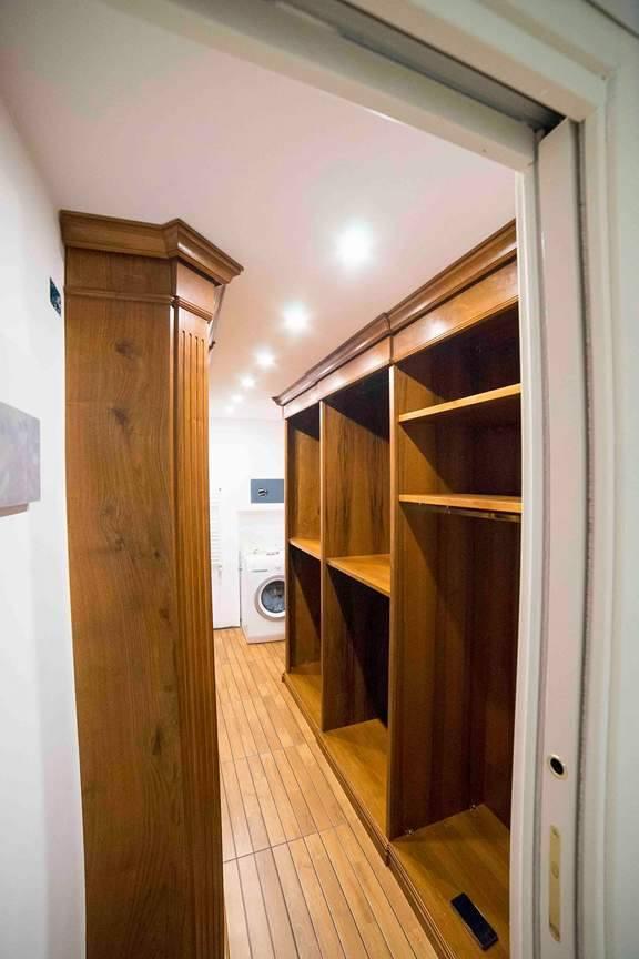 Cabina armadio in noce cabina armadio su misura legnoeoltre - Cabina armadio su misura ...