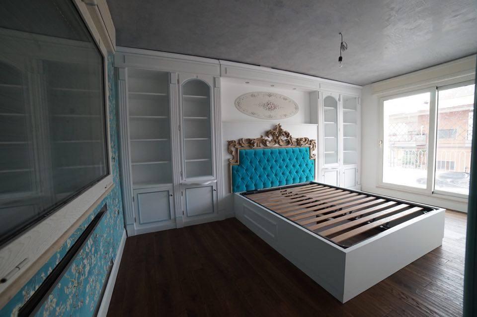 Camera da letto su misura Classica legnoeoltre