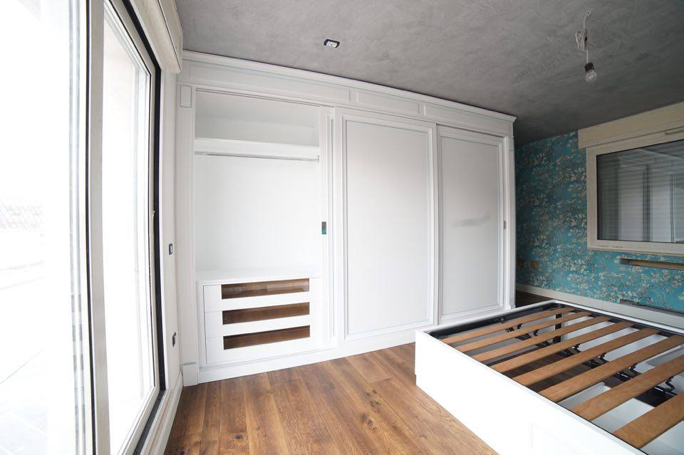 Camera da letto su misura classica (6)