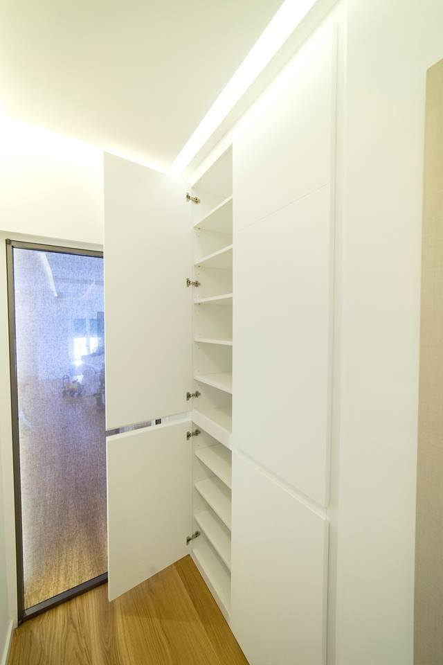 interno armadio scarpiera