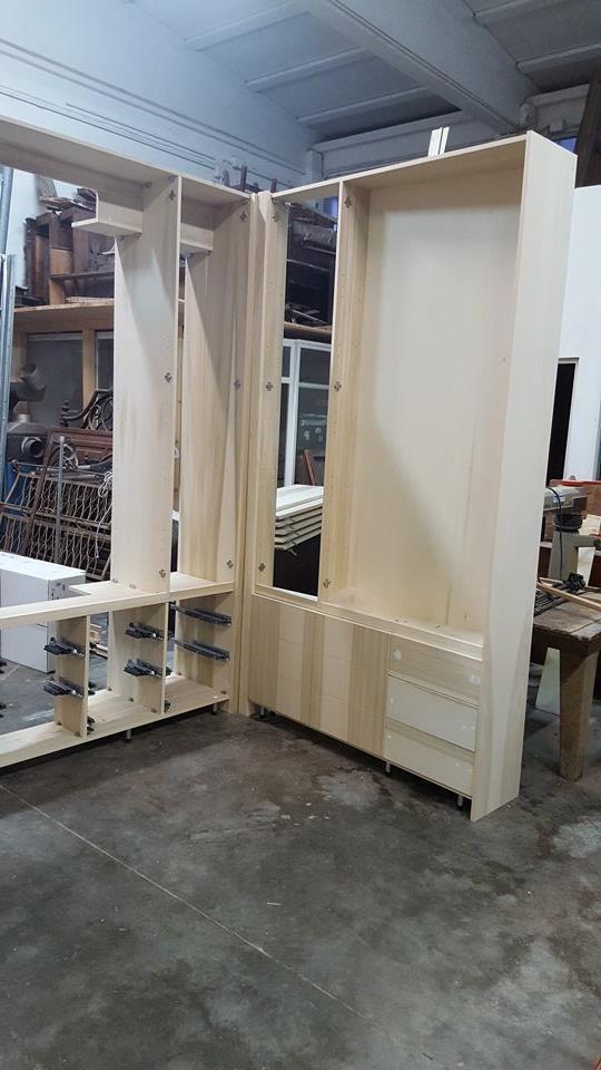 costruzione armadi casa legnoeoltre