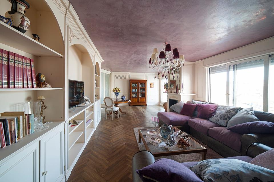 Arredare un 39 attico legnoeoltre for Arredare un salone
