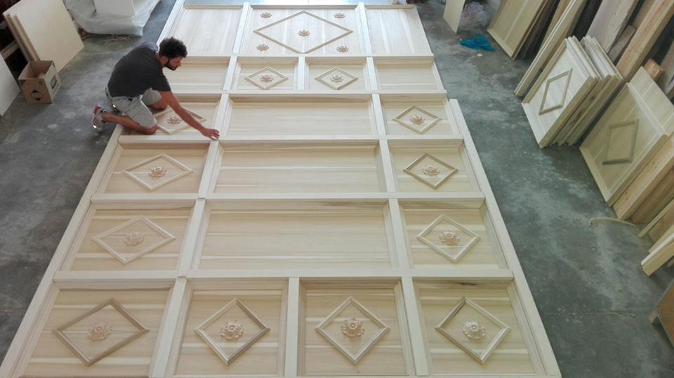 Costruire un soffitto a cassettoni