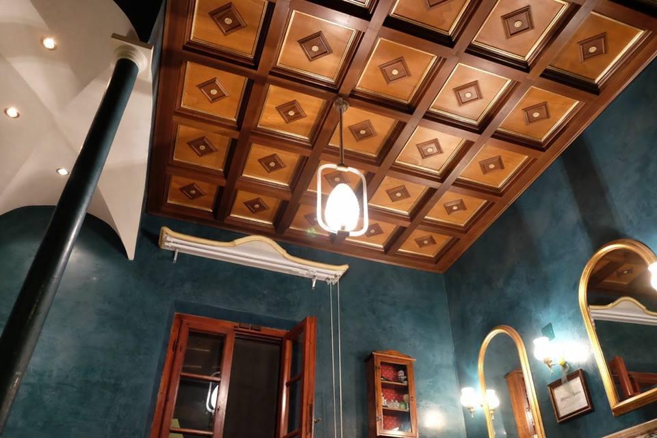 Mattonelle in legnosoffitti a cassettoni decoratilegnoeoltre