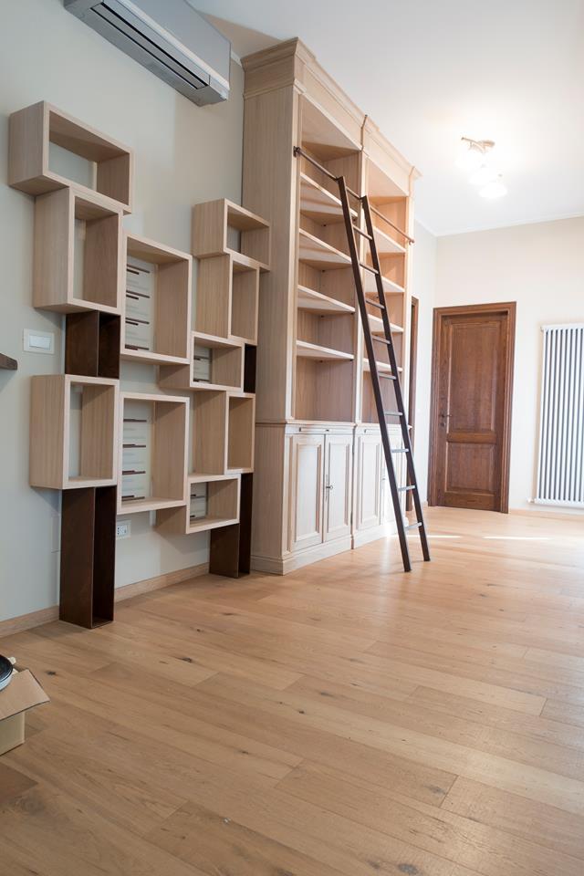 Librerie in legno su misura Librerie artigianali legnoeoltre