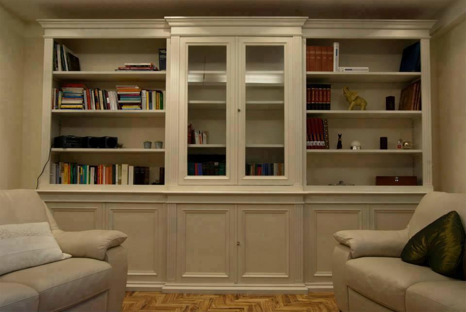 Librerie in legno su misura-legnoeoltre