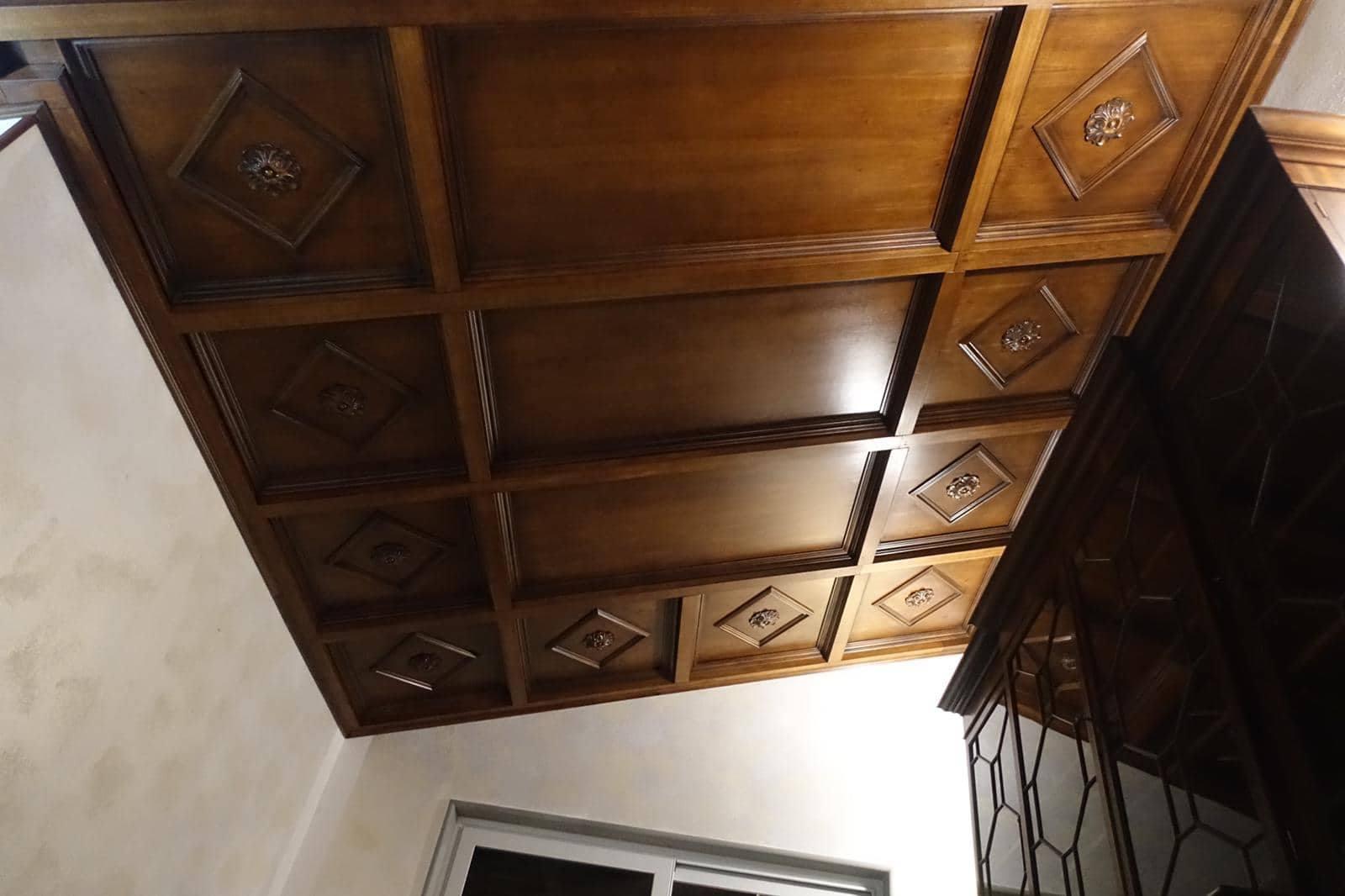 Costruire un soffitto a cassettonisoffittolegnoeoltre